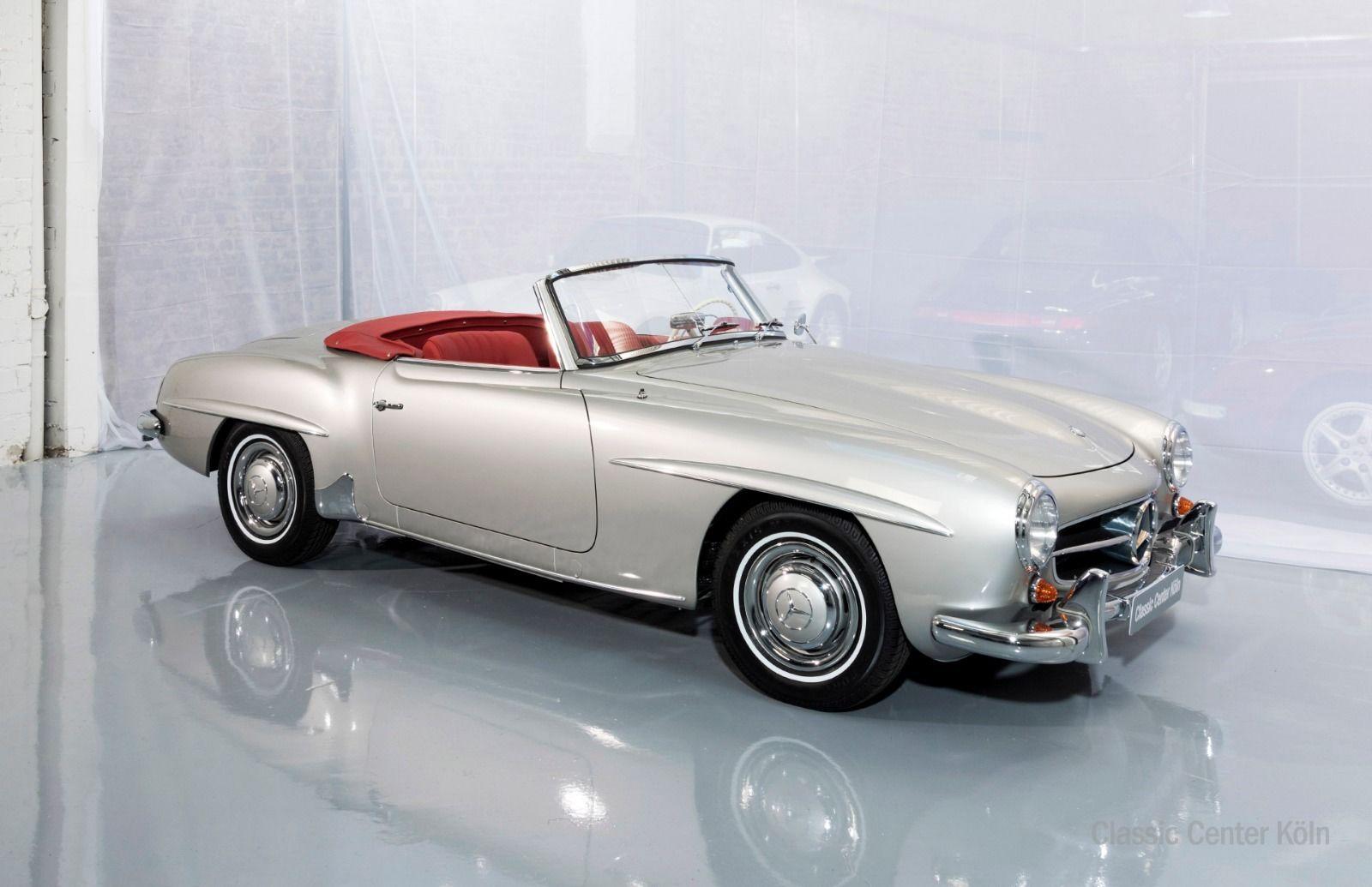 mercedes benz 190 sl cabrio komplett restauriert classic center k ln. Black Bedroom Furniture Sets. Home Design Ideas