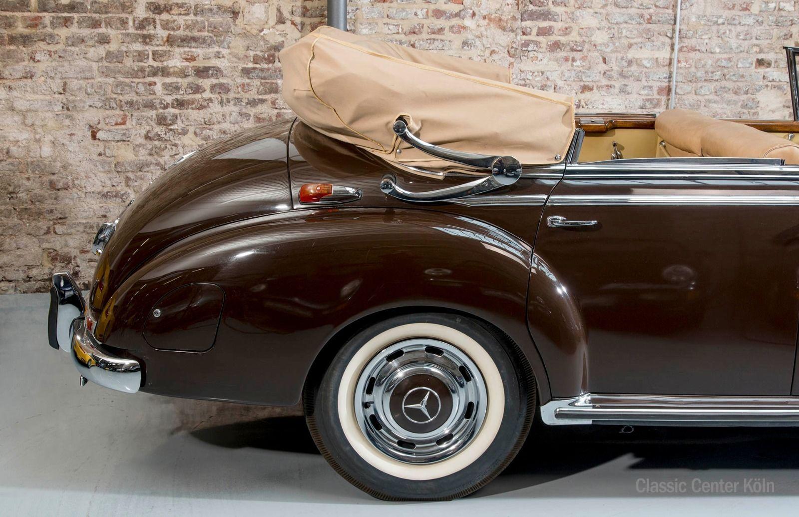 mercedes benz 300 c adenauer cabrio d 1 von 51 gebauten classic center k ln. Black Bedroom Furniture Sets. Home Design Ideas